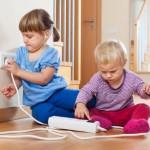 Kinderen met elektriciteit